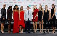 WTA总决赛众星礼服亮相