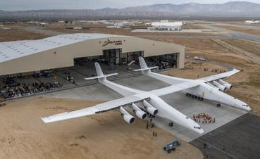 最大飞机做滑行测试 艾伦没法见它起飞