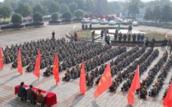 """孝昌开展""""过军事日"""" 国防教育活动"""