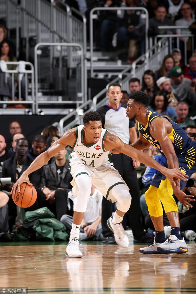 公鹿撞翻溜馬拿下2連勝 字母哥26+15+5,Oladipo 25分(影)-Haters-黑特籃球NBA新聞影音圖片分享社區