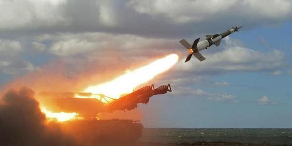 波兰防空部队进行导弹实弹射击演习