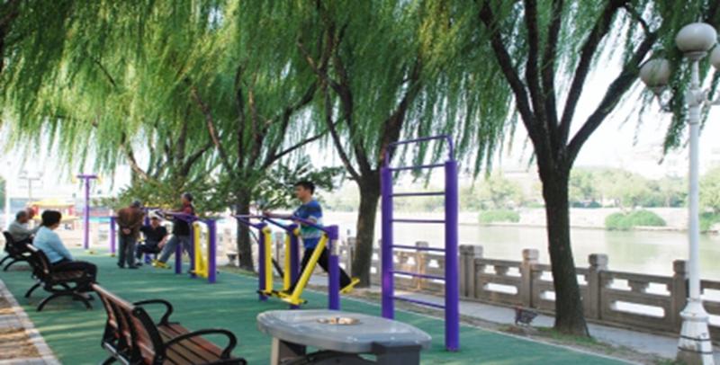 宁波打造城市社区10分钟健身圈!