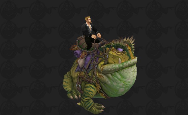 魔兽8.1测试服新增坐骑预览 最想要的青蛙坐骑回归了