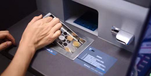 惠州首台纸硬币兑换一体机亮相