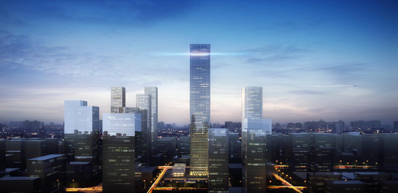 新丝路国际金融中心 350米IFC西北摩天之巅