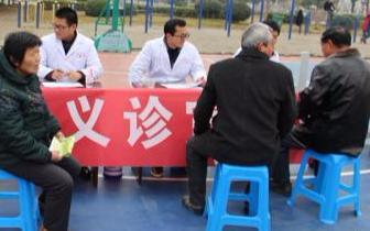 民进唐山市委会、农工党唐山市委会开展义诊活动