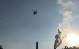 """无人机空中""""扫描"""" 为环境执法提供数据支持"""