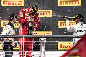 F1美国站莱科宁夺个人赛季首冠
