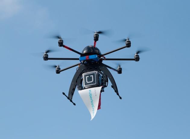 招无人机主管 Uber筹划2021年前建无人机配送业务