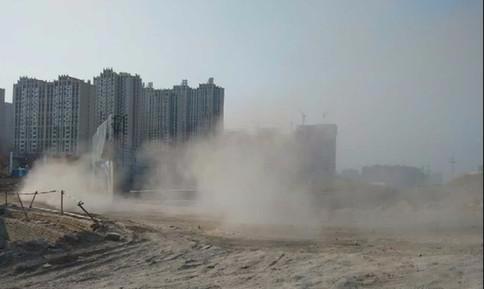 建设施工造成扬尘污染最高可罚10万元