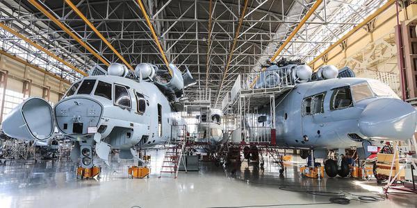 走进俄罗斯喀山直升机公司的生产车间