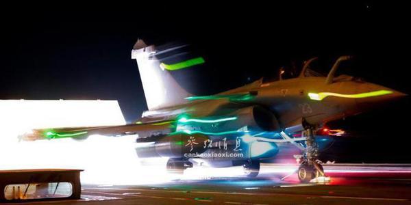 阵风卷席!法军曝阵风战机实战视频