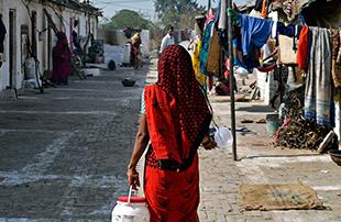 被金钱淹没的印度折叠