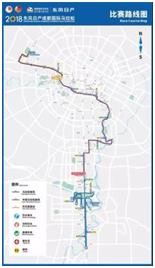 2018成都国际马拉松比赛路线图