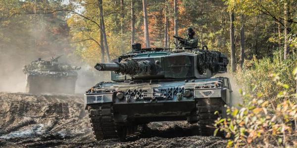 波兰和美国举行陆战演习