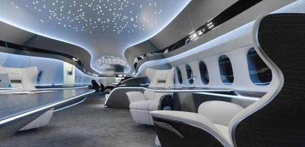 实拍波音最新客机内舱:奢华的空中移动宫殿
