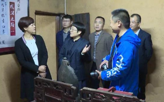 刘永珍来县督查齐白石国际文化艺术节筹备工作