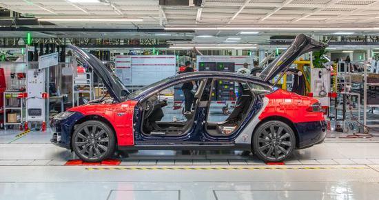 特斯拉:明年或将Model 3部分生产业务引入中国(图)