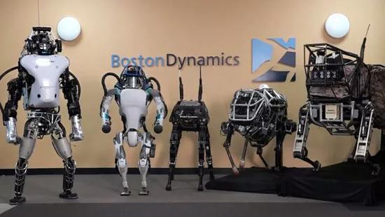起底网红机器人波士顿动力