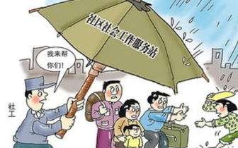 清风社区开展党员志愿服务