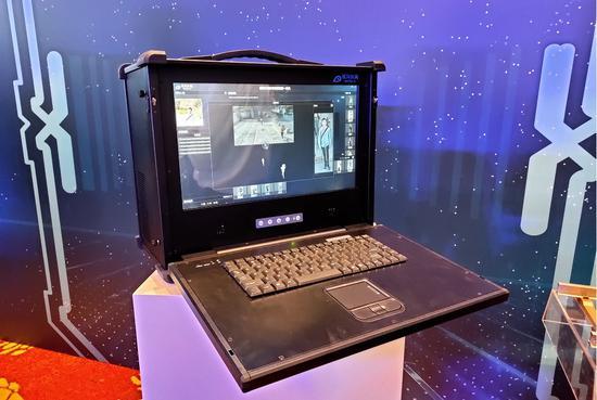 银河水滴发布步态检索一体机和轨道交通检测车