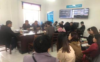 孝昌县河砂办、水政监察大队组织全体人员集中学习