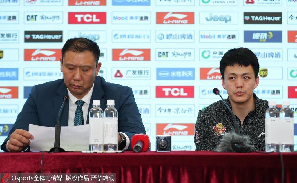 王晗:李指导让上海精神面貌好 状元:要先做好防守
