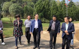 张湘汉局长带队赴湘潭县指导乌石景区创5A工作