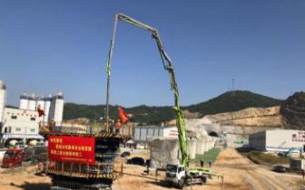 杭绍台铁路全线首座桥梁单位工程全面完工