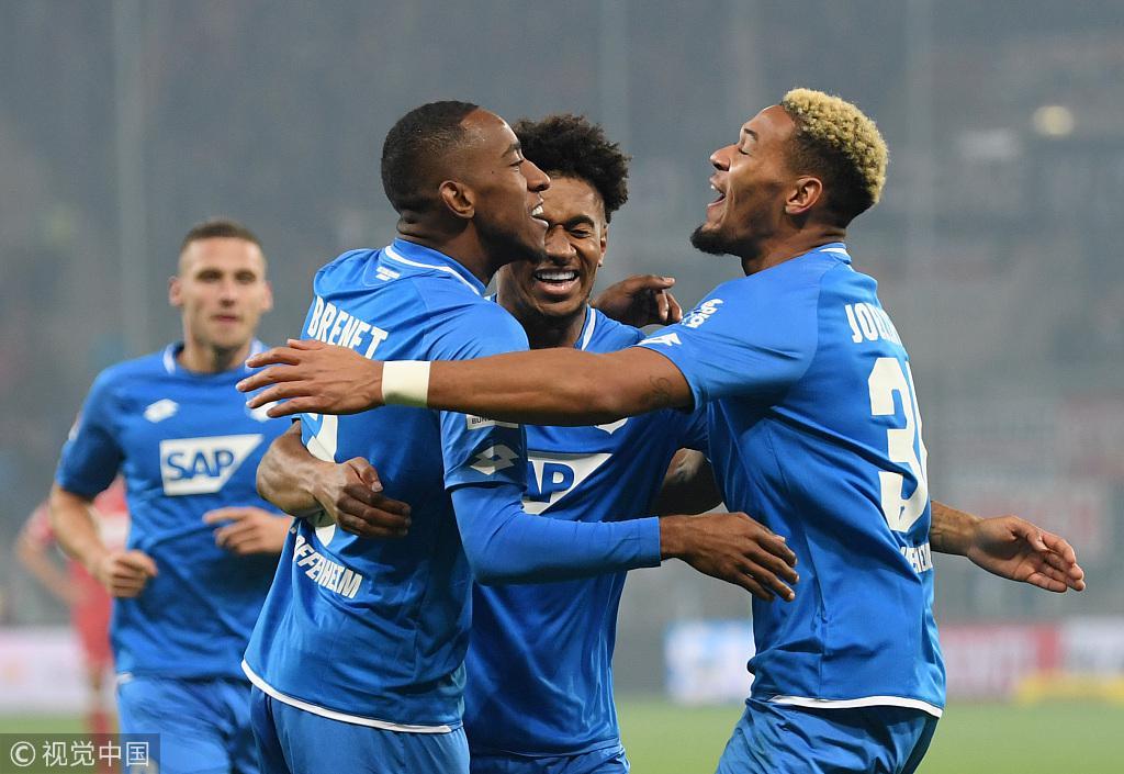 德甲-门兴1-3负弗赖堡被拜仁超越 霍村4-0大胜10人斯图