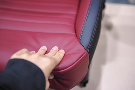 挑逗你的运动感官 名爵HS座椅拆解实拍