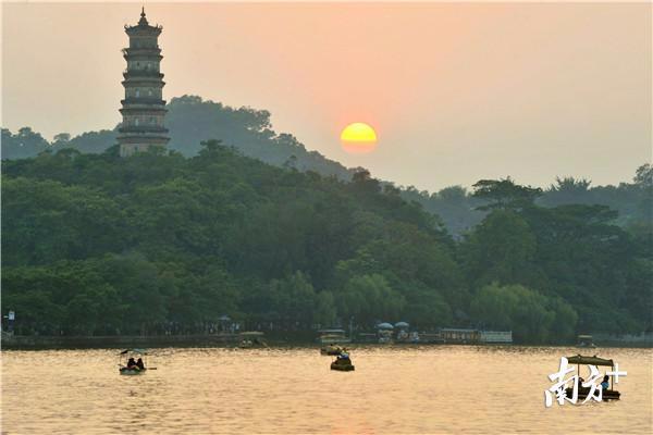 惠州西湖获颁5A级景区牌匾!