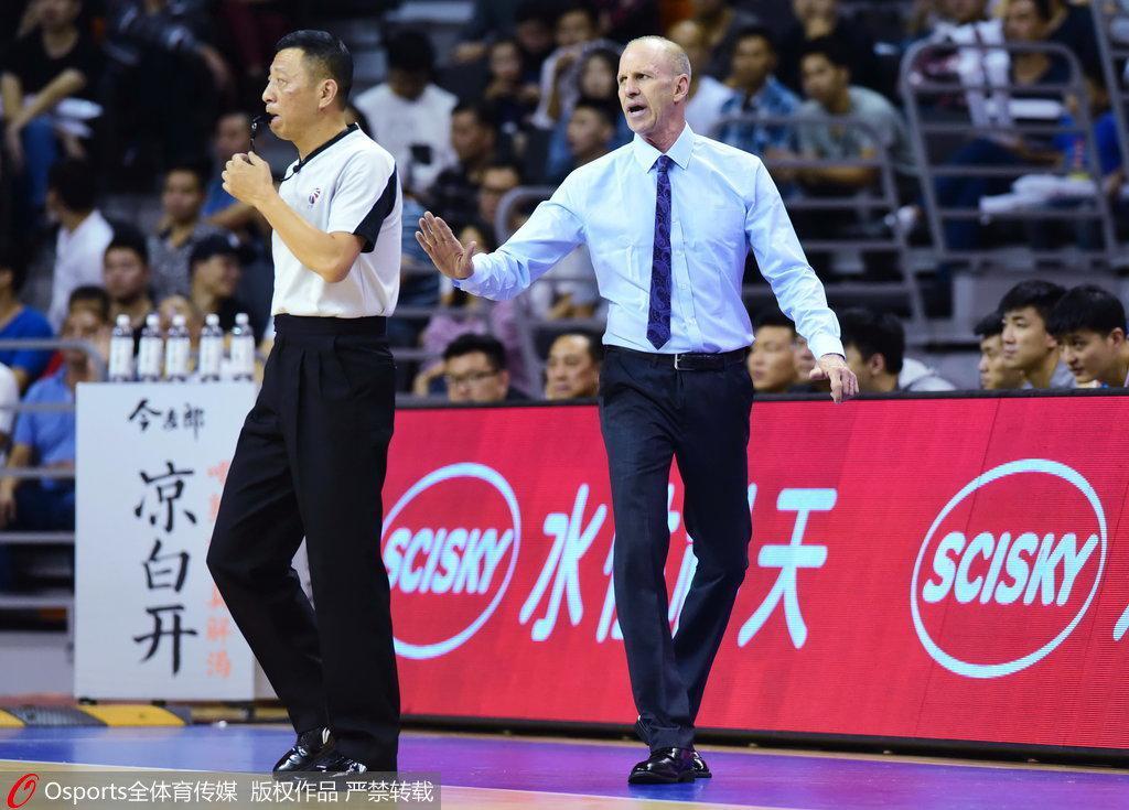 戈尔:广东将小球带入CBA 曾建议杜锋用双外线外援