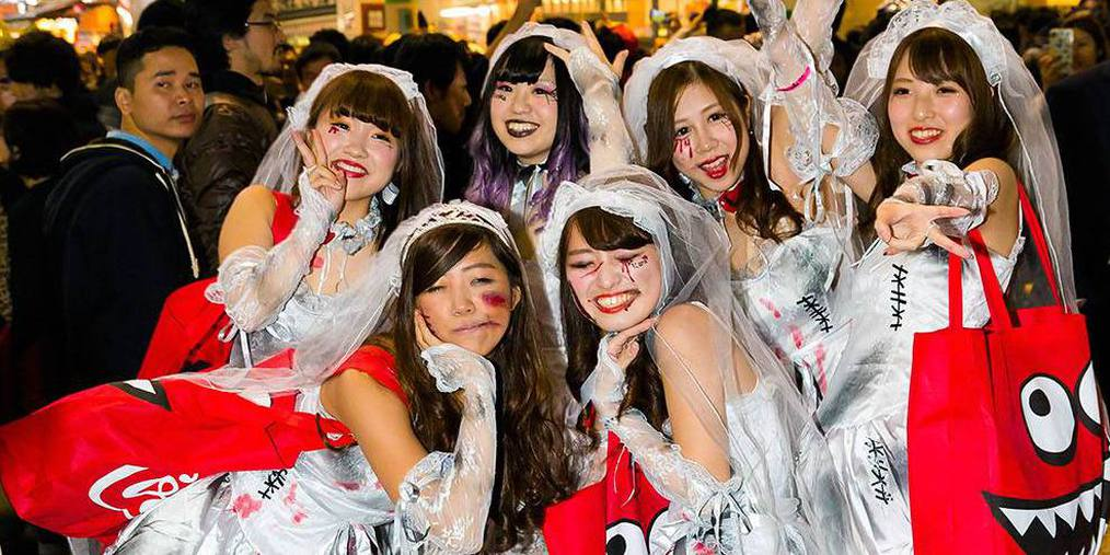 日本万圣狂欢中的涩谷,还有你不知道的