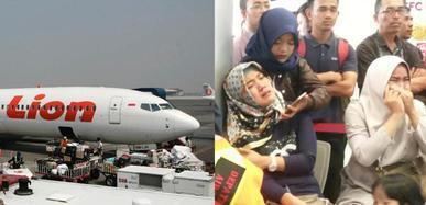 印尼一載上百人客機墜毀 家屬焦急痛哭