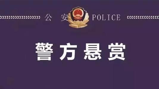 最高赏金1万元!惠东警方发布悬赏通告
