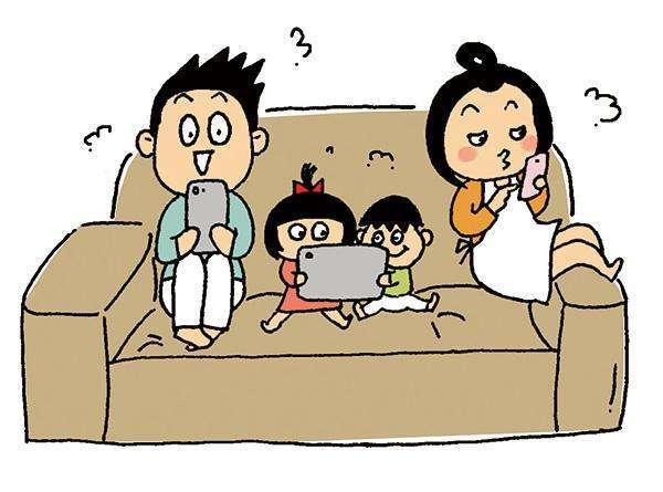 近半数中小学生父母一边玩手机一边和孩子讲话