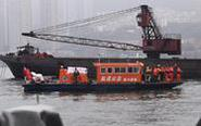 重慶公交墜江事故救援現場