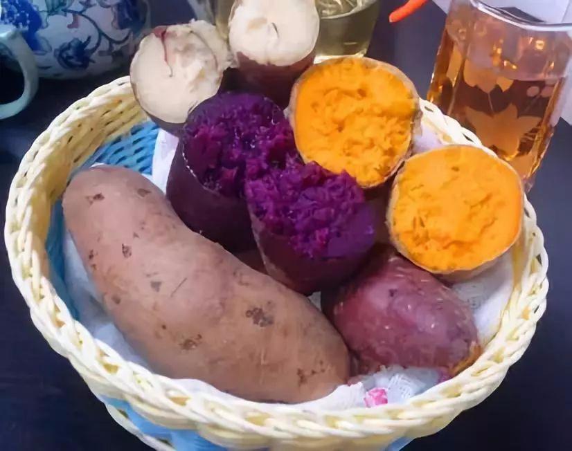 红薯、紫薯、白薯怎么吃?原来讲究这么多