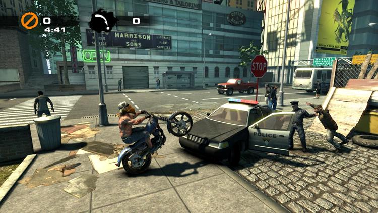 特技、加速、战斗,暴力摩托的全新跑法!《钢铁鼠》Demo评测