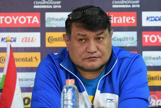 塔吉克国青主教练