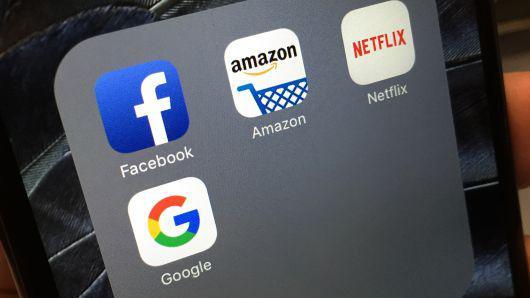 短短两天,美国四大互联网巨头市值蒸发2000亿美元