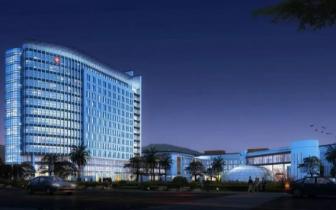 台州颜值最高妇儿医院已全面完工,夜景透视图抢先看