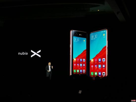 努比亚X发布:前后双屏旗舰 售价3299元起