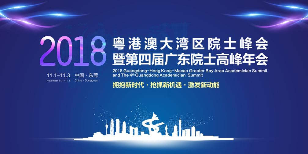 2018粤港澳大湾区院士峰会