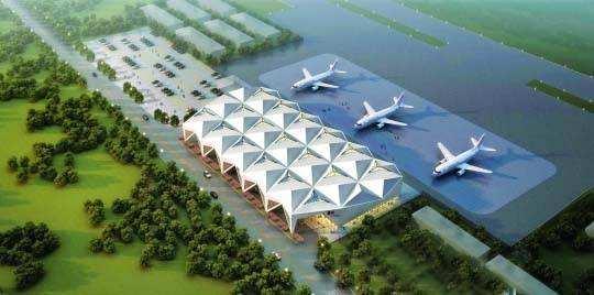 惠州机场扩容扩建 新航站楼效果图抢先看