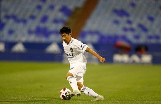国王杯-热尔松首球马竞1-0韩国小将创瓦伦纪录