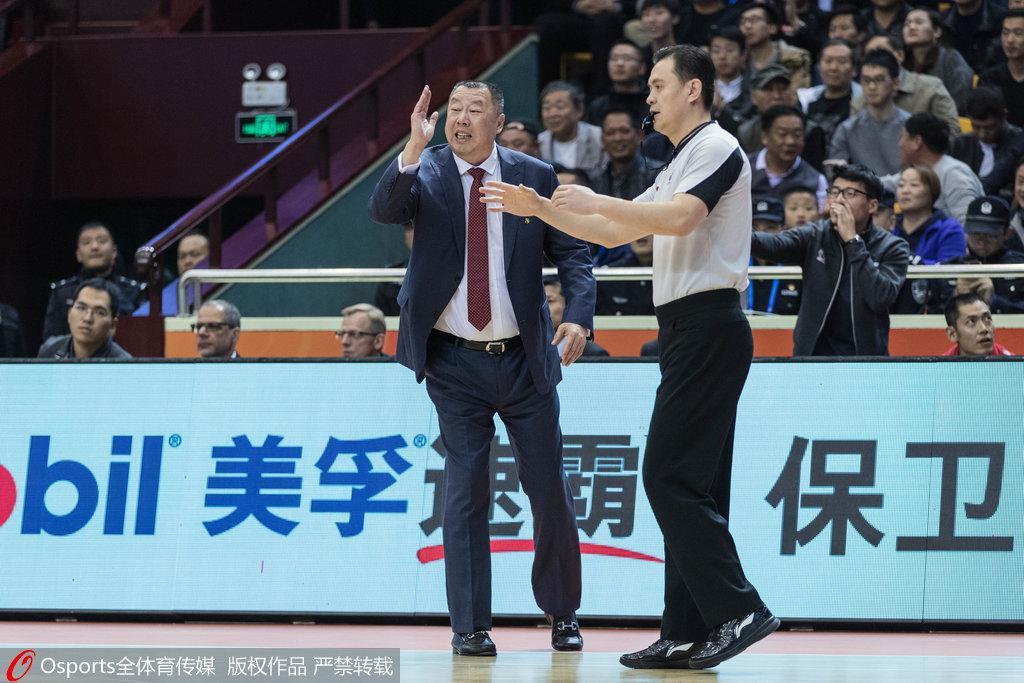 吴庆龙:输球主要是我的责任 杜锋:陶汉林非常优秀
