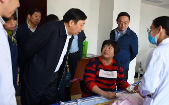 南昌市政协主席周关一行莅临江西省中西医结合医院视察