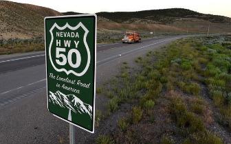 美国旅游胜地:全美最孤独的公路 美国50号公路